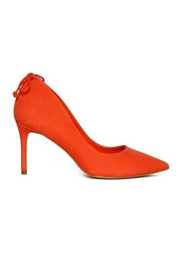 Aldo Nubuk Stiletto Ayakkabı Oranj